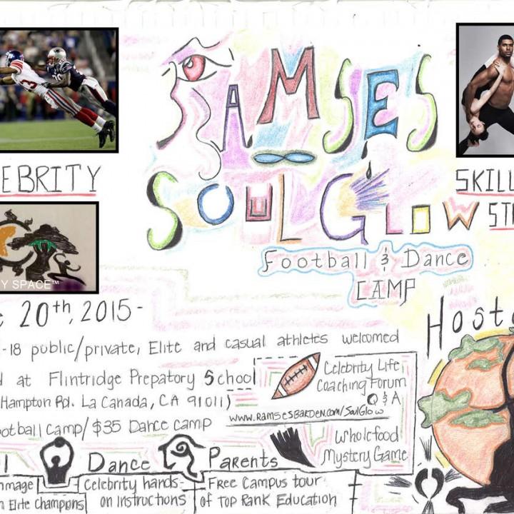 SOUL GLOW Skills Stretch -- Celeb Football & Dance Camp -- June 20, 2015